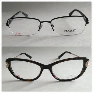 Swarovski & Vogue Frames 53 16 135 *NWT*